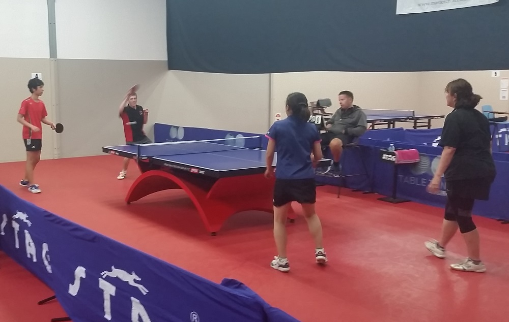 gold coast table tennis open