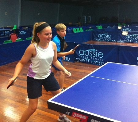 junior table tennis