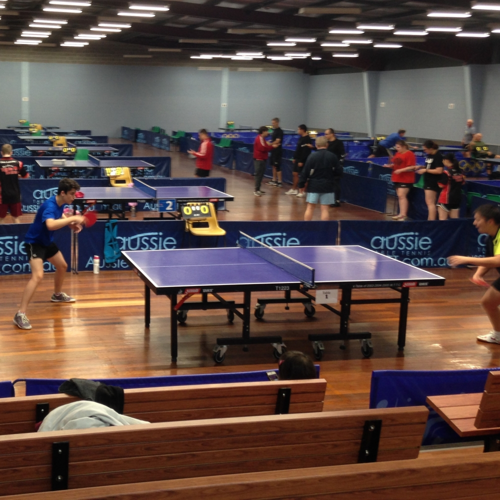table tennis friendly comp