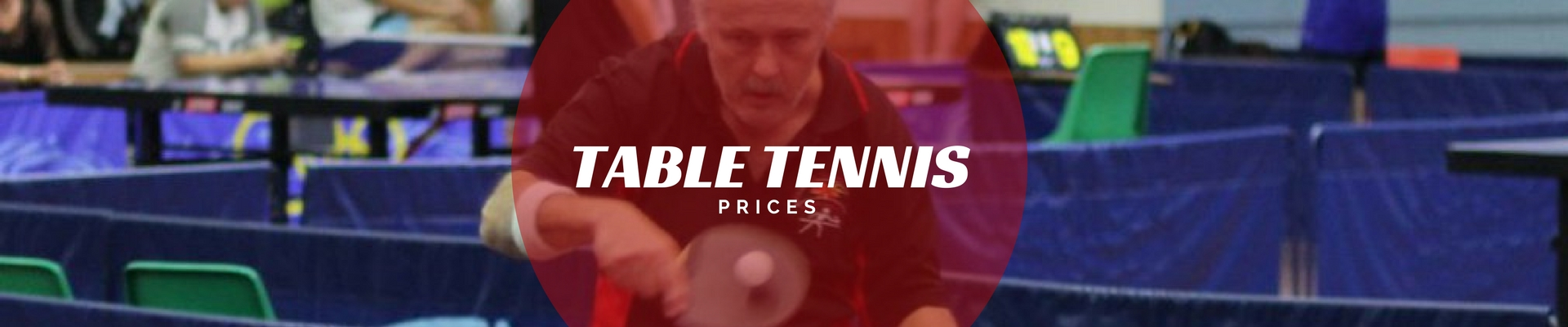 table tennis prices